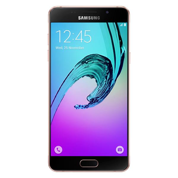 Смартфон Samsung Galaxy A5 (2016) Pink Gold ( SM-A510F) мобильный телефон samsung galaxy a5 2016 16 gb sm a 510 f розовый