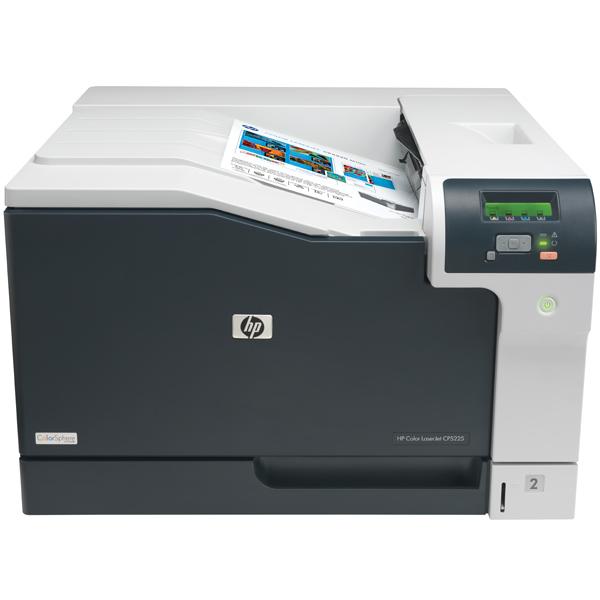 Лазерный принтер (цветной) HP Color LaserJet Pro CP5225 (CE710A) A3 принтер лазерный цветной hp color laserjet pro cp5225n a3 20 стр мин 192мб usb lan белый ce711a