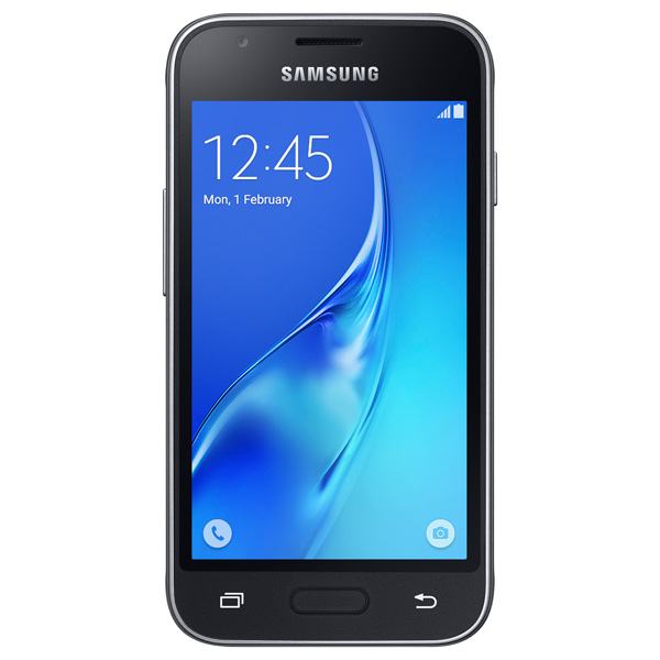 Смартфон Samsung Galaxy J mini DS Black (SM-J105H) смартфон samsung j1 mini 2016 sm j105h 8gb black