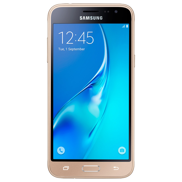 Смартфон Samsung Galaxy J3 (2016) DS Gold (SM-J320F)  samsung galaxy j3 2016 sm j320f 4g 8gb gold