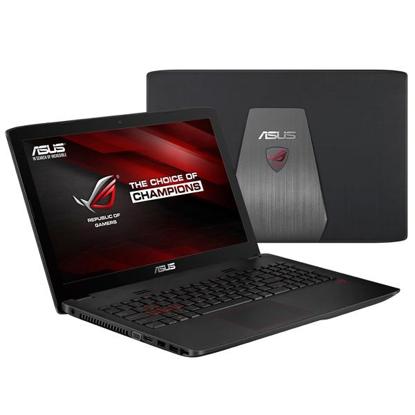 Ноутбук игровой ASUSНоутбуки<br>Класс ноутбука: Игровой,<br>Блок питания: в комплекте,<br>Диагональ экрана: 15.6(39.6 см),<br>Серия: ROG GL552,<br>Встроенный динамик: 2,<br>Производитель видеокарты: NVIDIA,<br>Тип привода 1: DVD+/-RW,<br>Поддержка Wi-Fi: IEEE 802.11 a/b/g/n/ac,<br>Количество ядер : 2,<br>Базовый цвет: черный,<br>Технология дисплея: TFT,<br>Диагональ/разрешение: 15.6/1366x768 пикс.,<br>Емкость аккумулятора: 3200 мАч,<br>Операционная система: Windows 10 Домашняя 64,<br>Работа от аккумулятора: до 4 часов,<br>Вид гарантии: гарантийный талон<br>