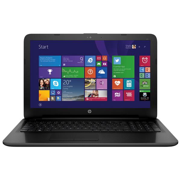 Ноутбук HPНоутбуки<br>Порт USB 2.0 тип A: 2,<br>Производитель видеокарты: AMD,<br>Поддержка 10/100 FastEthernet: Да,<br>Выход miniD-Sub видео: 1,<br>Кэш-память: 3 МБ,<br>Разъем карт памяти: SD/SDHC/SDXC,<br>Класс ноутбука: Для работы и учёбы,<br>Материал корпуса: пластик,<br>Разъем для наушн./микрофона 3.5мм: 1,<br>Технология дисплея: TFT,<br>Диагональ/разрешение: 15.6/1366x768 пикс.,<br>Bluetooth (версия): 4.0,<br>Количество ядер : 2,<br>Работа от аккумулятора: до 5 часов,<br>Ширина: 384 мм,<br>Глубина: 255 мм,<br>Высота: 25 мм,<br>Встроенный микрофон: 1<br>