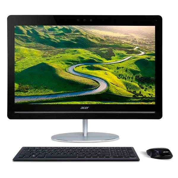 Моноблок AcerМоноблоки<br>Встроенный модуль Bluetooth: 4.0+LE,<br>Порт USB 3.0 тип A: 4,<br>Тип привода 1: DVD+/-RW,<br>Частота памяти: 2133 МГц,<br>Встроенные АС: Да,<br>Выход HDMI: 1,<br>Вход HDMI: 1,<br>Встроенный микрофон: 1,<br>Сенсорный дисплей: Да,<br>Мышь в комплекте: да,<br>Клавиатура в комплекте: да,<br>Разъем для наушн./микрофона 3.5мм: 1,<br>Диагональ/разрешение: 23.8/1920x1080 пикс.,<br>Тип оперативной памяти: DDR4,<br>Количество ядер : 4,<br>Порт USB 2.0 тип A: 1,<br>Макс. такт. частота: 3.6 ГГц,<br>Цвет моноблока: белый/черный<br>