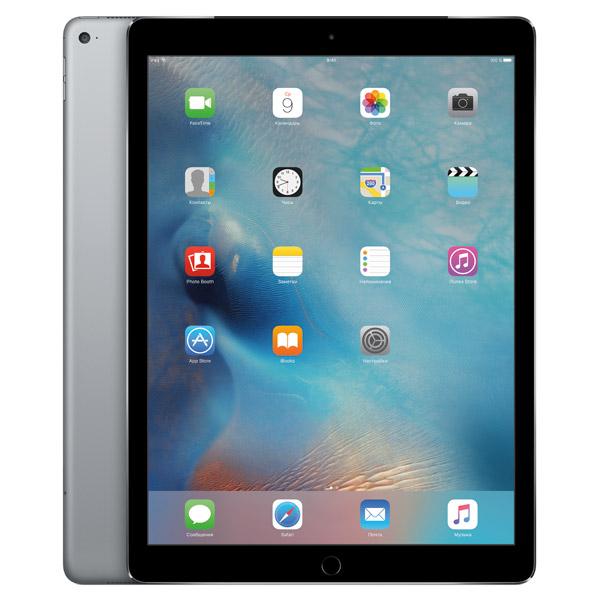 Планшет AppleПланшеты Apple<br>Ширина: 221 мм,<br>Зарядное устройство в комплекте: Да,<br>Встроенная память (ROM): 256 ГБ,<br>Кабель для связи с ПК: в комплекте,<br>Цвет: серый космос,<br>Тип дисплея: Retina,<br>Серия: iPad Pro,<br>Высота: 306 мм,<br>Глубина: 7 мм,<br>Габаритные размеры (В*Ш*Г): 306*221*7 мм,<br>Разрешение фронтальной камеры: 1.2 МПикс,<br>Встроенный микрофон: 2,<br>Тип процессора: A9X+M9,<br>Модель: ML2L2RU/A,<br>Гарантия: 1 год,<br>GPS модуль: Да,<br>Разрешение фотокамеры: 8 МПикс,<br>Диагональ/разрешение: 12.9/2732x2048 пикс.,<br>Страна: КНР<br>