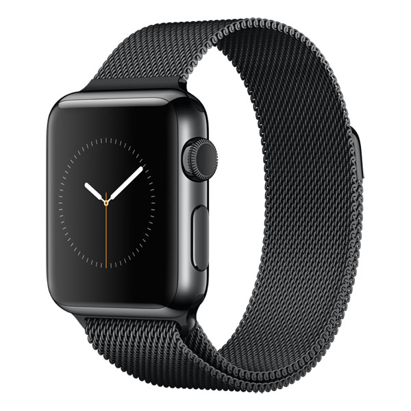 �����-���� Apple Watch 38mm SpBl.Steel/SpBl.Milanese Loop MMFK2RU