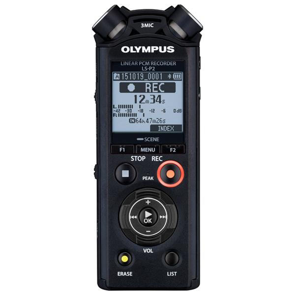Диктофон цифровой Olympus LS-P2 диктофон olympus ls p1