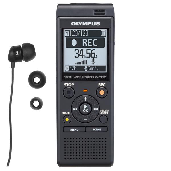 Диктофон цифровой Olympus VN-741PC + TP-8