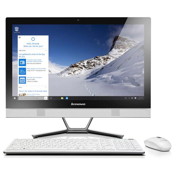 Моноблок LenovoМоноблоки<br>Жесткий диск (HDD): 1 ТБ,<br>Графический контроллер: GeForce 820A 2ГБ,<br>Гарантия: 1 год,<br>Вес моноблока: 6.2 кг,<br>Блок питания: в комплекте,<br>Страна: КНР,<br>Оперативная память (RAM): 6 ГБ,<br>Макс. оперативная память: 8 ГБ,<br>Количество ядер : 2,<br>Тип процессора: Core i3-5005U 2ГГц,<br>Частота памяти: 1600 МГц,<br>Частота процессора: 2 ГГц,<br>Встроенный микрофон: 1,<br>Клавиатура в комплекте: да,<br>Мышь в комплекте: да,<br>Вид гарантии: по чеку,<br>Диагональ экрана: 58.4 см,<br>Тип привода 1: DVD+/-RW,<br>Поддержка Gigabit LAN: Да<br>