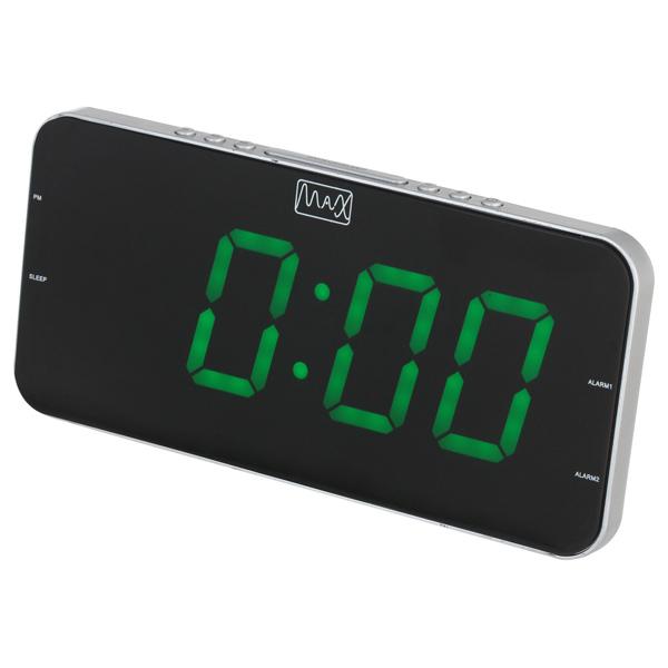 Радио-часы MAX CR-2909
