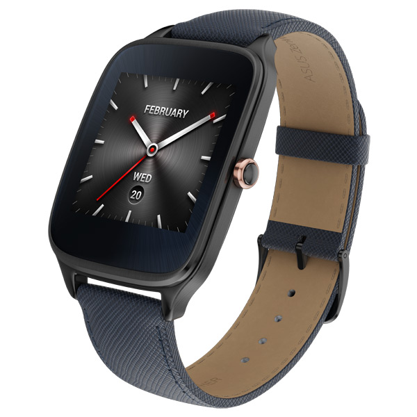 ASUS ZenWatch 2 (WI501Q(BQC)-2LBLU0014) asus zenwatch 3 wi503q silicon