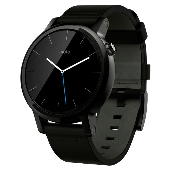 Смарт-часы Motorola Moto 360S 42mm Men (2 nd Gen)