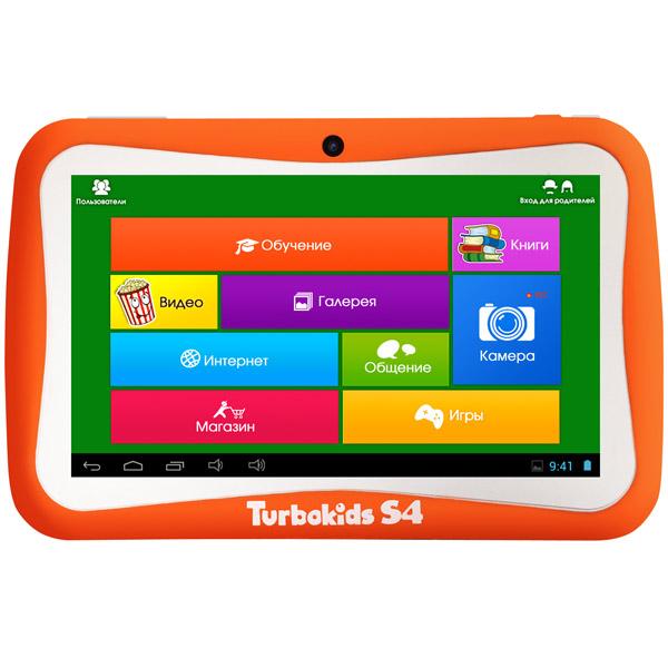 Планшетный компьютер для детей TurboKids S4 Orange