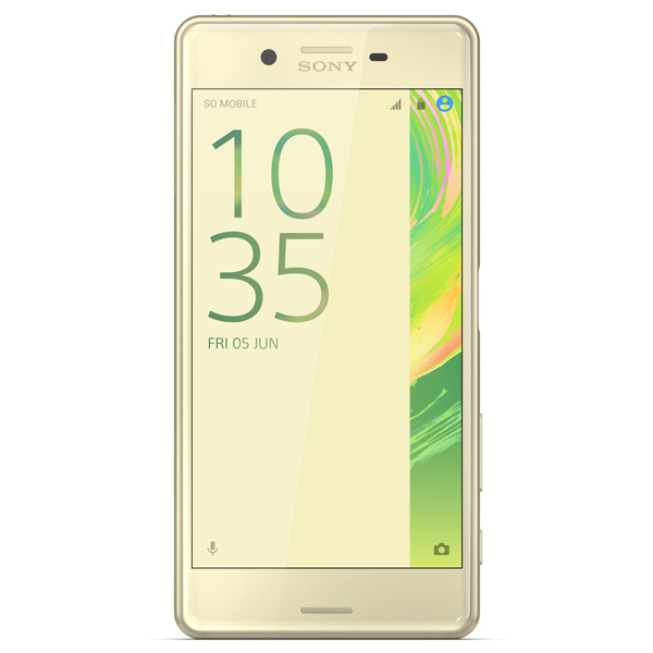 Смартфон Sony Xperia X Perfomance Dual Lime Gold (F8132) смартфон sony xperia x dual lime gold android 6 0 marshmallow msm8956 1800mhz 5 0 1920x1080 3072mb 64gb 4g lte [f5122lime gold]