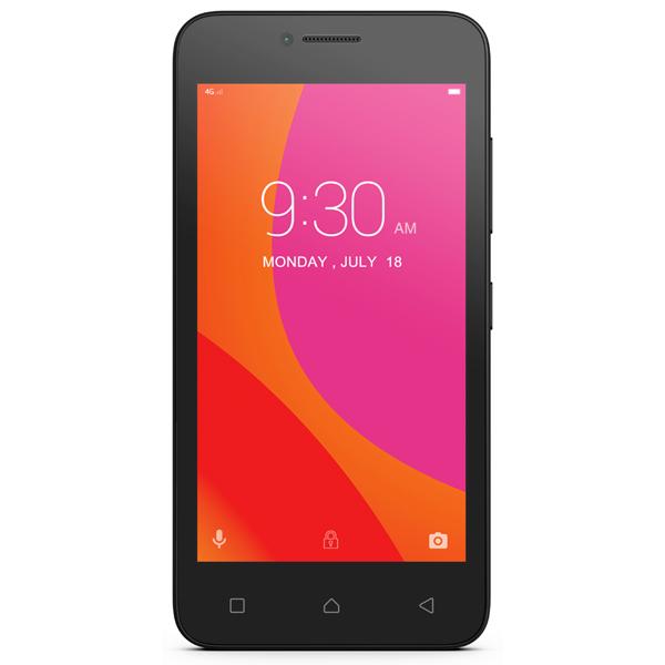 Смартфон Lenovo Vibe B 8Gb LTE Black (A2016A40) смартфон lenovo vibe c2 8gb k10a40 black
