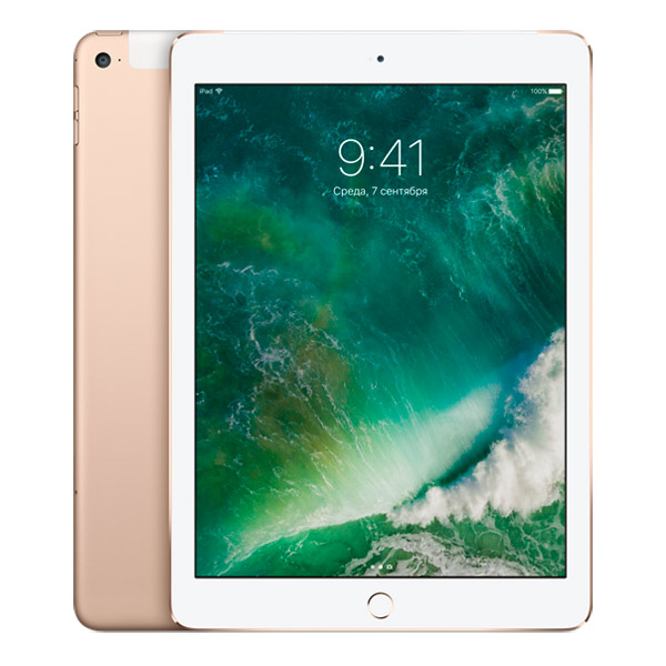 Планшет Apple iPad Air 2 Wi-Fi + Cellular 32Gb Gold (MNVR2RU/A)