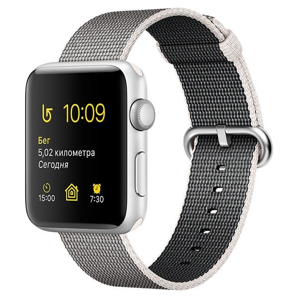 Смарт-часы Apple Watch S2 38mm Silver Al/Pearl (MNNX2RU/A)