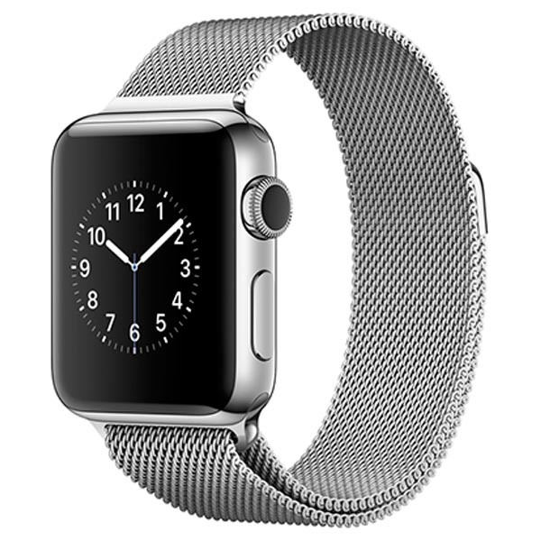 Смарт-часы Apple Watch S2 38mm St.St/SilvMilanese Loop (MNP62RU/A)