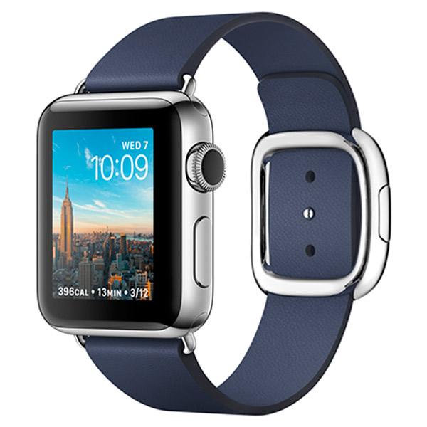Смарт-часы AppleWatch<br>Водоустойчивый корпус: Да,<br>Зарядное устройство в комплекте: Да,<br>Габаритные размеры (В*Ш*Г): 39*34*11 мм,<br>Датчик ускорения (G-sensor): Да,<br>Класс водонепроницаемости: до 50 метров,<br>Вес: 25 г,<br>Серия: Watch Series 2,<br>Вид гарантии: по чеку,<br>Высота: 39 мм,<br>Зарядка от USB порта: Да,<br>Макс. время работы: до 18 часов,<br>Цвет: стальной/синий,<br>Тип дисплея: Retina Force Touch,<br>Ширина: 34 мм,<br>Поддержка Wi-Fi: IEEE 802.11 b/g/n,<br>Глубина: 11 мм,<br>Страна: КНР,<br>Встроенный микрофон: 1,<br>Сенсорный дисплей: Да<br><br>Ширина мм: 34<br>Вес г: 25<br>Глубина мм: 11<br>Высота мм: 39<br>Цвет : стальной/синий