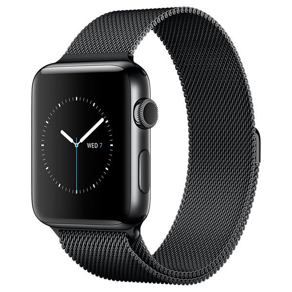 Смарт-часы Apple Watch S2 42mm Sp.Bl St.St/Sp.Bl Milan (MNQ12RU/A)
