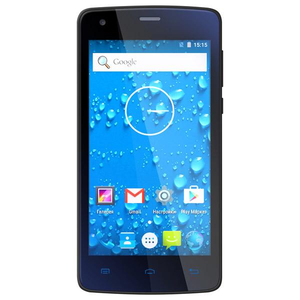 """teXet, Смартфон, TM-4513 4.5"""" LTE 16Gb Graphite"""