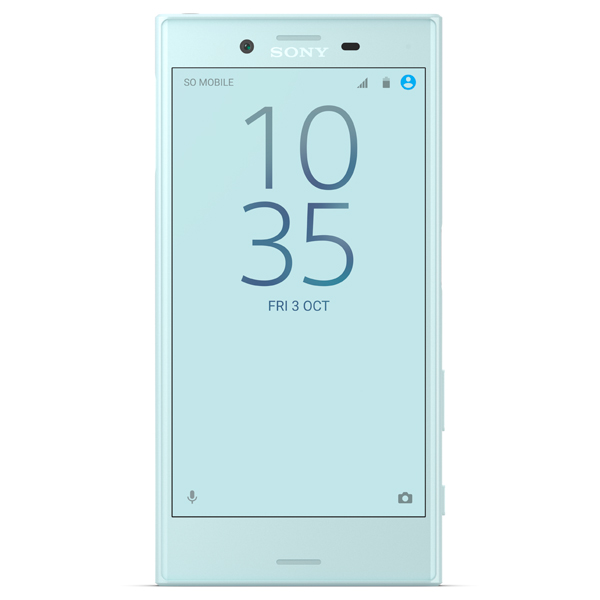 Смартфон Sony Xperia X Compact Mist Blue (F5321) смартфон sony xperia x compact white android 6 0 marshmallow msm8956 1800mhz 4 6 1280x720 3072mb 32gb 4g lte [f5321white]