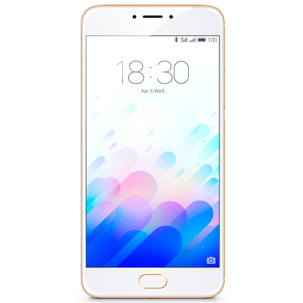 Смартфон Meizu M3 Note 16Gb+2Gb Gold/White (L681H) смартфон meizu m3 note l681h 32гб золотой