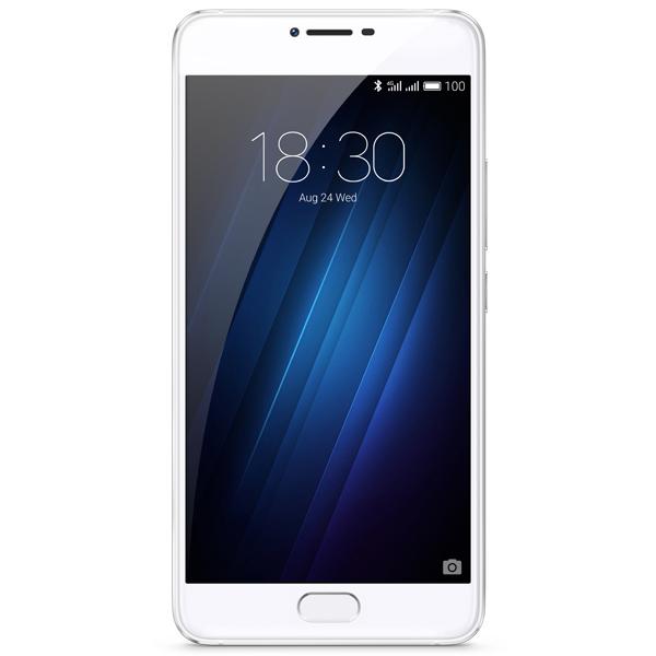 Смартфон Meizu U20 32Gb Silver/White (U685H) смартфон meizu u20 32 gb rose gold white
