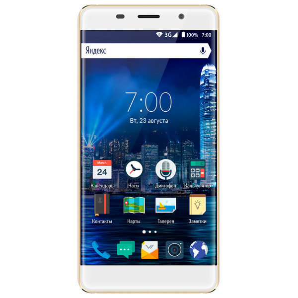 Смартфон Vertex Impress InTouch 3G Gold
