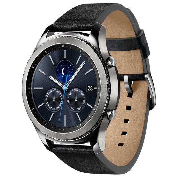 Смарт-часы Samsung Gear S3 classic (SM-R770NZSASER)