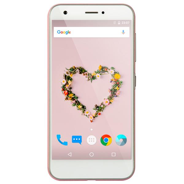 Смартфон ZTE Z10 Pink