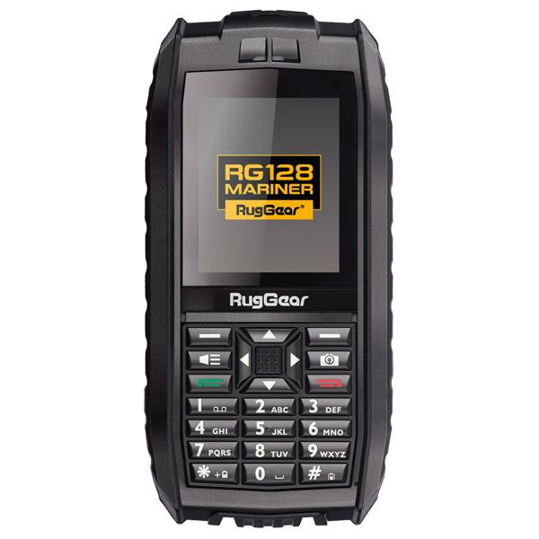 Мобильный телефон RugGear RG128 Mariner Black ruggear rg740 black yellow