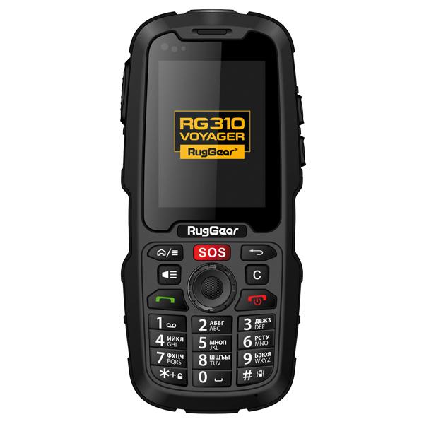 Смартфон RugGear Voyager Black (RG310) смартфон ruggear rug gear 310 voyager черный