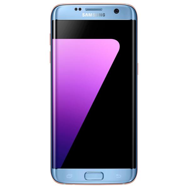 Смартфон Samsung Galaxy S7 edge 32GB DS Smoke Sapphire (SM-G935FD) samsung s6 edge sm g928f 32gb black sapphire