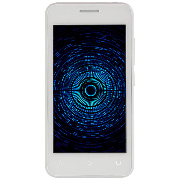 Смартфон Fly STRATUS 6 White (FS407) мобильные телефоны fly fs407 stratus 6 синий