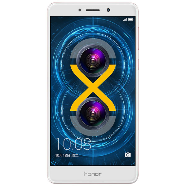Смартфон Honor 6X 32Gb Gold (BLN-L21) смартфон sony xperia x compact white android 6 0 marshmallow msm8956 1800mhz 4 6 1280x720 3072mb 32gb 4g lte [f5321white]