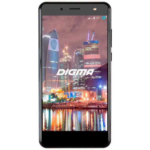 Смартфон Digma VOX Flash 4G 8Gb Black digma vox s502 3g