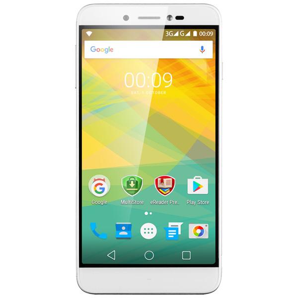 Смартфон Prestigio Grace Z5 Duo Silver (PSP5530)
