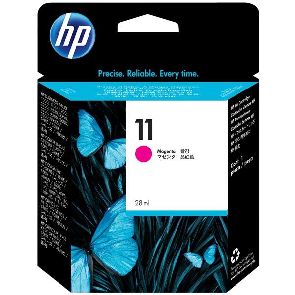 HP, Картридж для струйного принтера, 11 Magenta (C4837A)