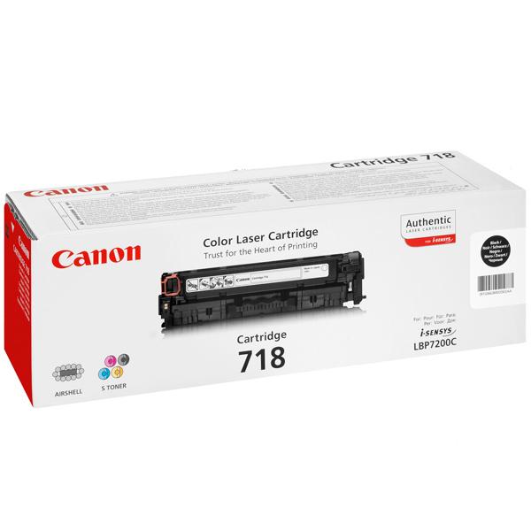 Картридж для лазерного принтера Canon 718 Black