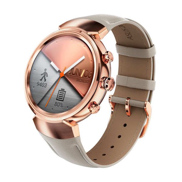 ASUS ZenWatch 3 WI503Q Leather Strap Beige asus zenwatch 3 wi503q leather strap beige