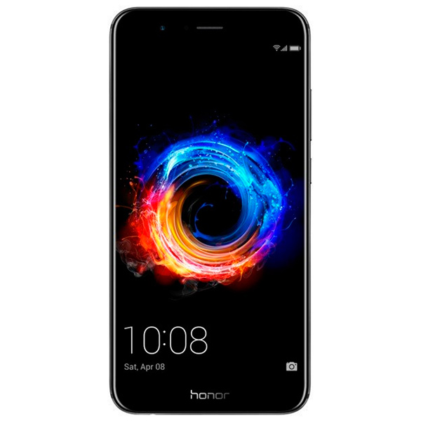 Смартфон Honor 8 Pro 64Gb Black (DUK-L09) сотовый телефон huawei honor 8 pro black