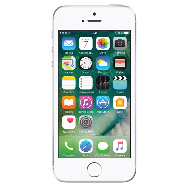 Смартфон Apple iPhone SE 32GB Silver (MP832RU/A) смартфон apple iphone se 32gb silver mp832ru a