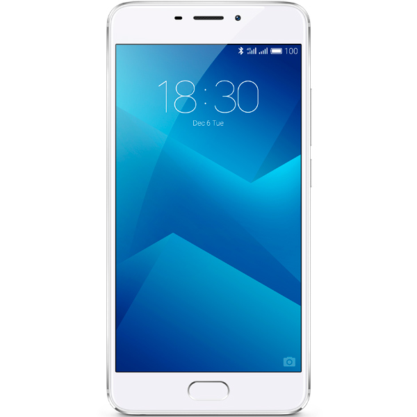 Смартфон Meizu M5 Note 16Gb+3Gb Silver/White (M621H) смартфон meizu u20 32 gb rose gold white
