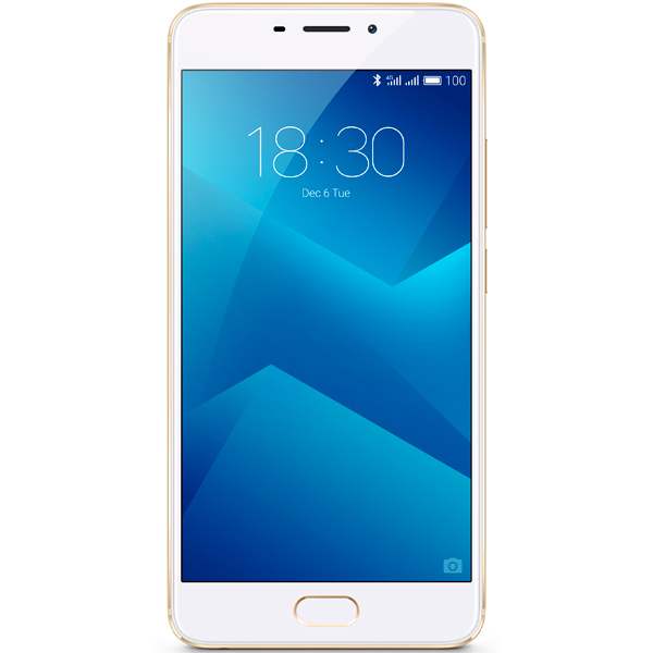 Смартфон Meizu M5 Note 16Gb+3Gb Gold (M621H) смартфон meizu u20 32 gb rose gold white