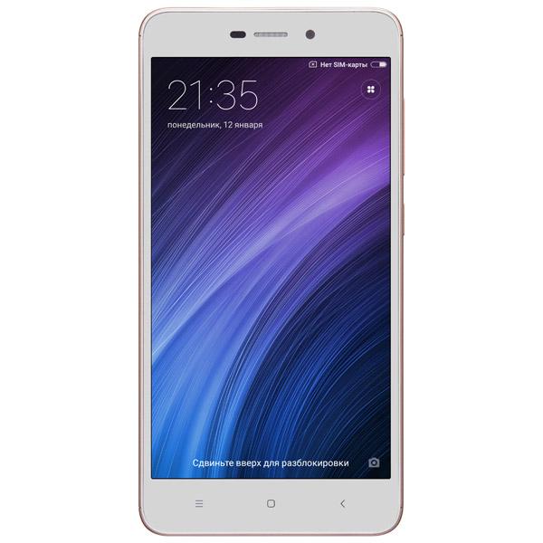 Смартфон Xiaomi Redmi 4A 32Gb Gold смартфон moto z 32gb black android 6 0 marshmallow msm8996 2150mhz 5 5 2560х1440 3072mb 32gb 4g lte 3g edge hsdpa hsupa [sm4389ae7u1]