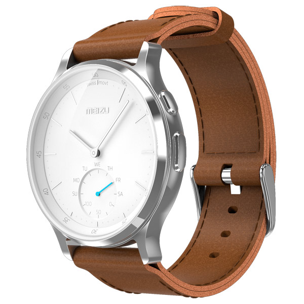 Смарт-часы Meizu MZWA1S Leather Silver