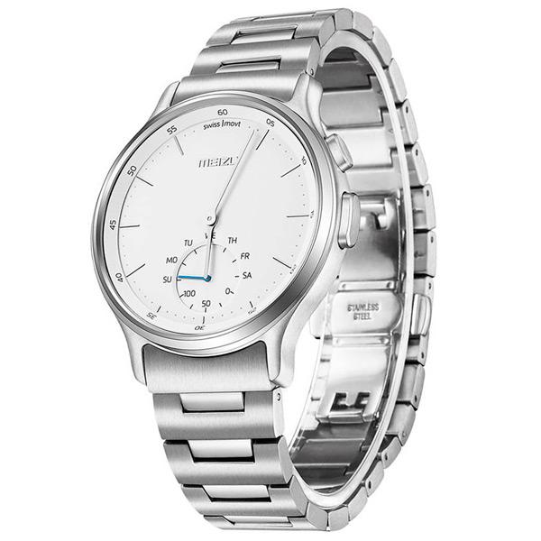 Смарт-часы Meizu MZWA1S Steel Silver смарт часы meizu mzwa1s серебристый
