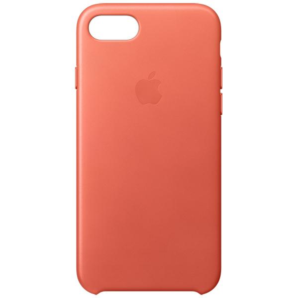 Кейс для iPhone Apple iPhone 7 Leather Case Geranium (MQ5F2ZM/A) mercury goospery milano diary wallet leather mobile case for iphone 7 plus 5 5 grey