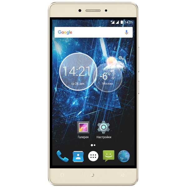 Смартфон Highscreen Power Ice Max Gold мобильный телефон highscreen ice 2 white