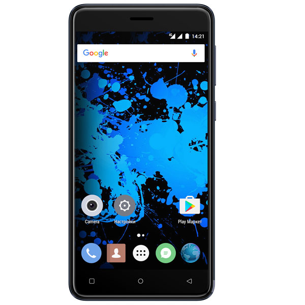 все цены на  Смартфон Highscreen Power Rage Evo Blue  онлайн